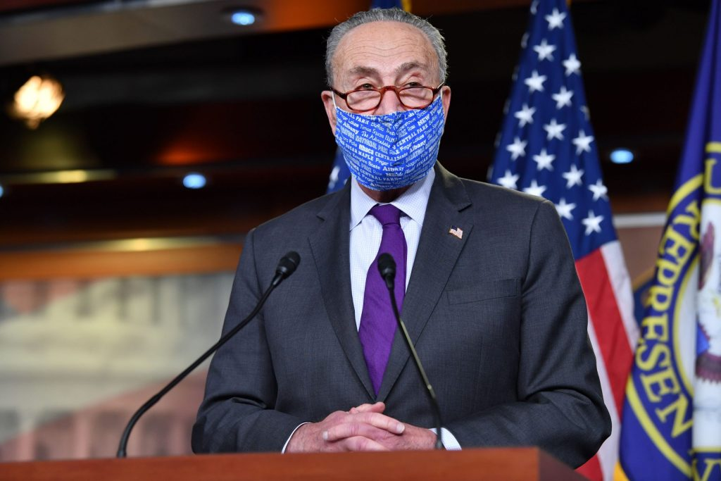 McConnell agrees to resume talks, Schumer says