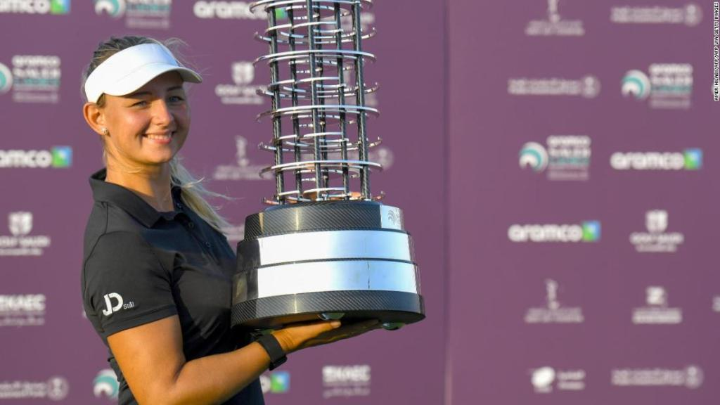 Pedersen wins inaugural Saudi Ladies International