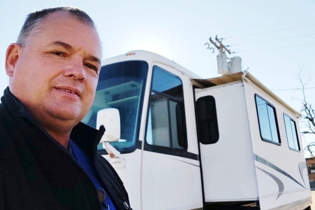 After coronavirus sickened coworkers, Kansas radiology technician slept in RV to continue treating patients