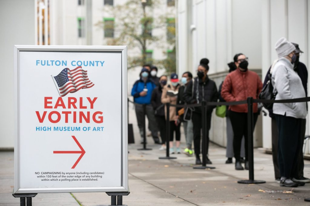 Early voting in Georgia begins for Senate runoff elections