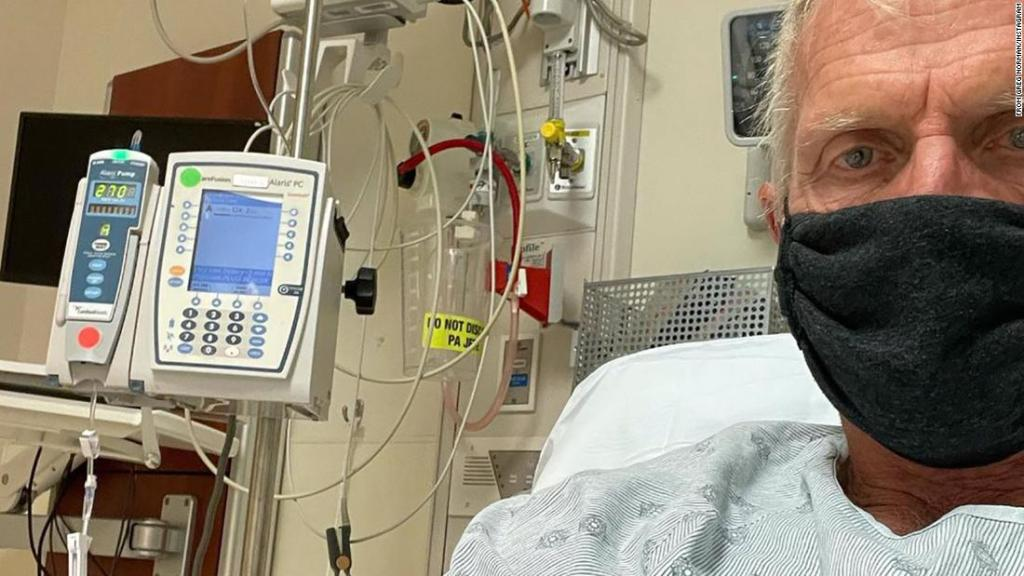 Greg Norman delivers graphic account of dealing with Covid-19 symptoms
