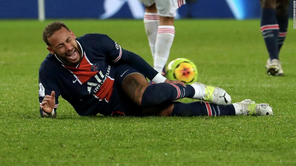 Neymar injury: PSG faces anxious wait after Brazilian star stretchered off in defeat by Lyon