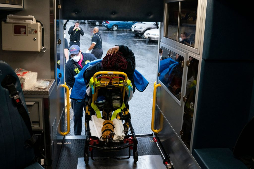 Paramedics under 'extreme stress' as Covid toll climbs: Ambulance company CEOs