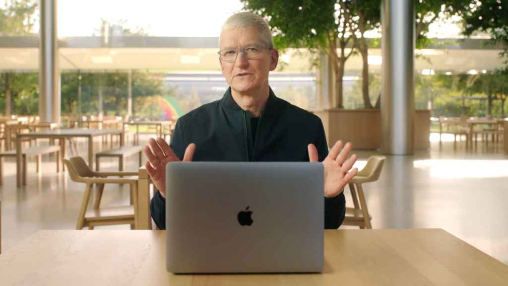 Tim Cook differentiates Apple from Big Tech rivals