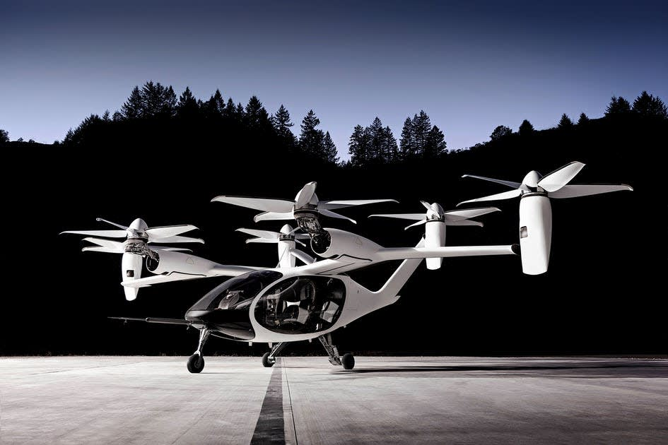 Uber sells its flying taxi business to Joby Aviation