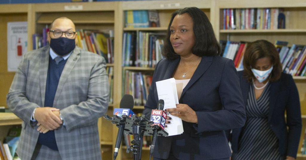 Half of Chicago pre-K, special ed teachers report back to campuses
