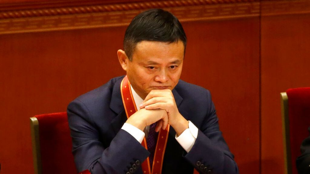 Jack Ma, founder of Chinese e-commerce firm Alibaba Group, attends a conference to commemorate the 40th anniversary of China's Reform and Opening Up policy at the Great Hall of the People in Beijing, Tuesday, Dec. 18, 2018. China...s best-known entrepreneur, e-commerce billionaire Jack Ma, hasn't been seen since he angered regulators with an October 2020 speech. That is prompting speculation about what might happen to the billionaire founder of Alibaba Group, the world's biggest e-commerce company. (AP Photo/Mark Schiefelbein)