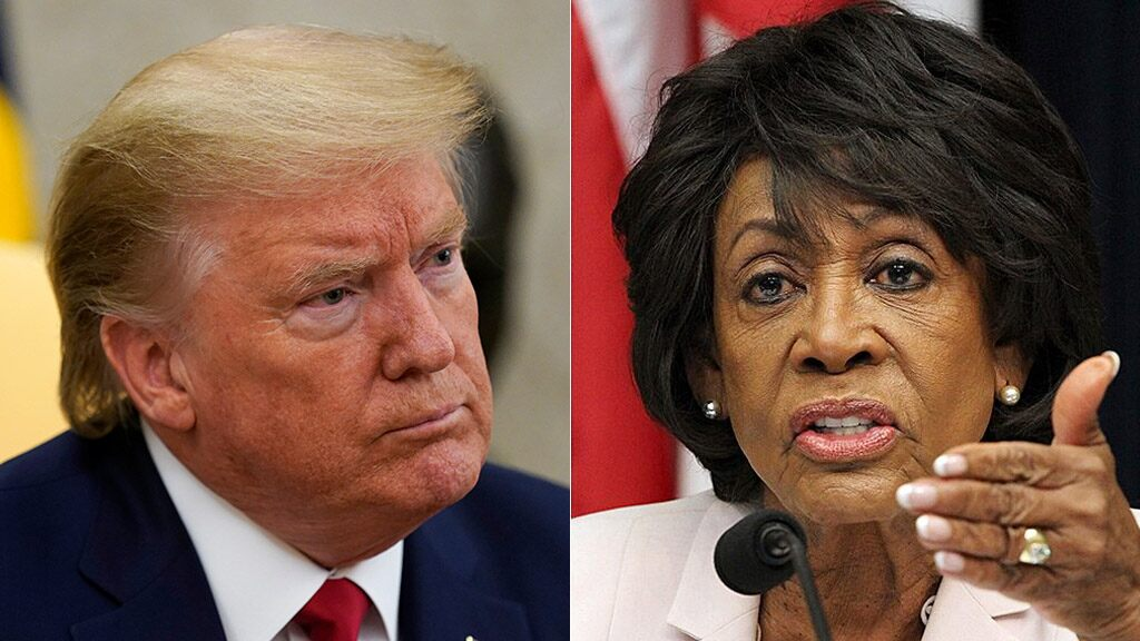 Maxine Waters warns Trump 'capable of starting a civil war'