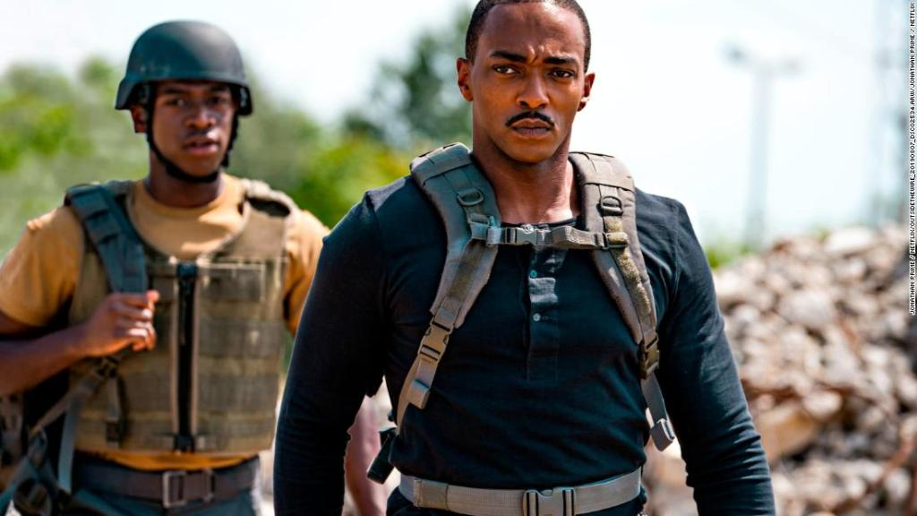 'Outside the Wire' review: Anthony Mackie stars in a sci-fi movie that thinks inside the box