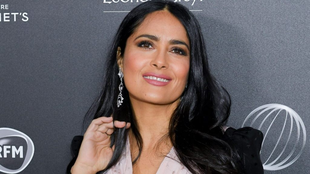 Salma Hayek starts the new year off with a sultry bikini snap