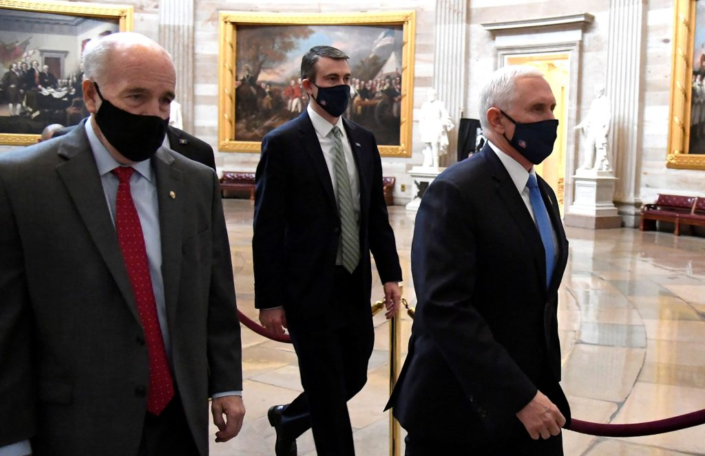 U.S. Capitol rioters nearly reached Vice President Mike Pence: Report