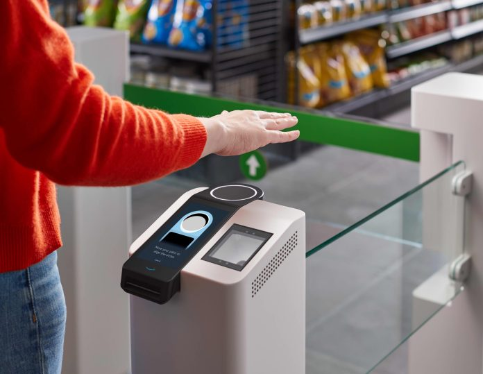 Amazon Whole Foods getting palm-scanning payment system
