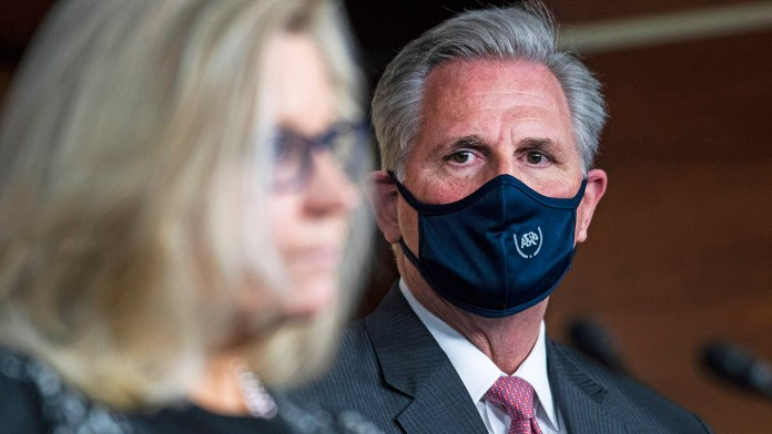 McCarthy tells House Republicans to expect vote to remove Cheney, says GOP must stop 'relitigating the past'