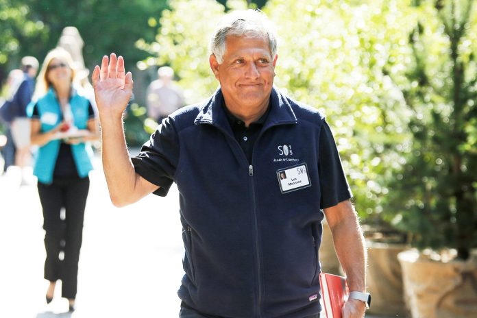 Moonves drops legal pursuit to recoup $120 million CBS severance package