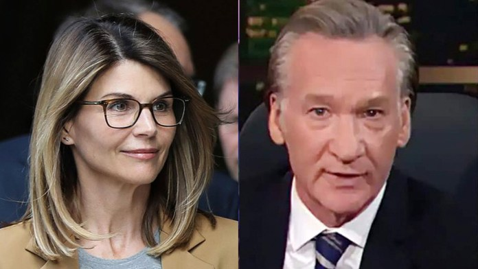 Bill Maher rips higher-ed 'racket,' says Lori Loughlin 'understood that one good scam deserves another'
