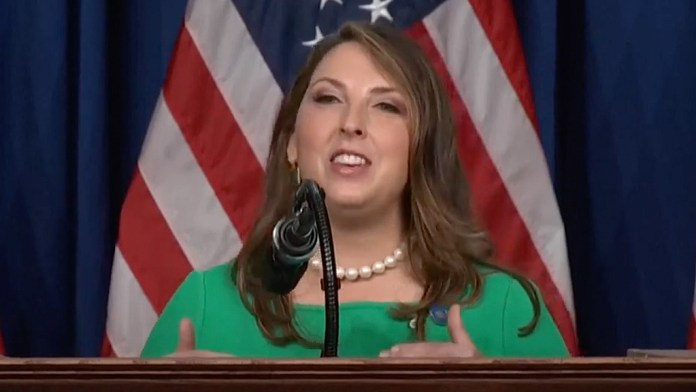 GOP chairwoman Ronna McDaniel faces backlash from both sides after celebrating 'Pride Month'