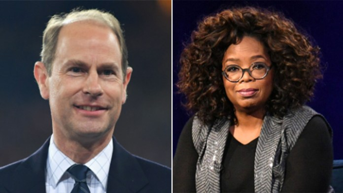 Prince Edward jokingly shades Oprah Winfrey's interview with Meghan Markle, Prince Harry: 'Oprah who?'