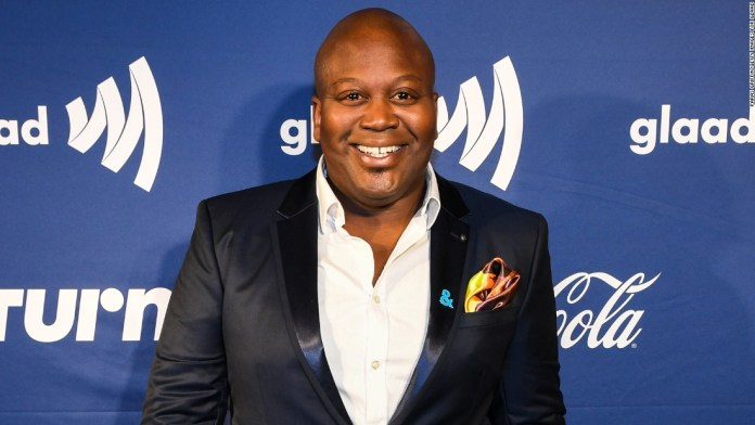 Tituss Burgess reacts to co-star Ellie Kemper's apology over involvement in controversial pageant