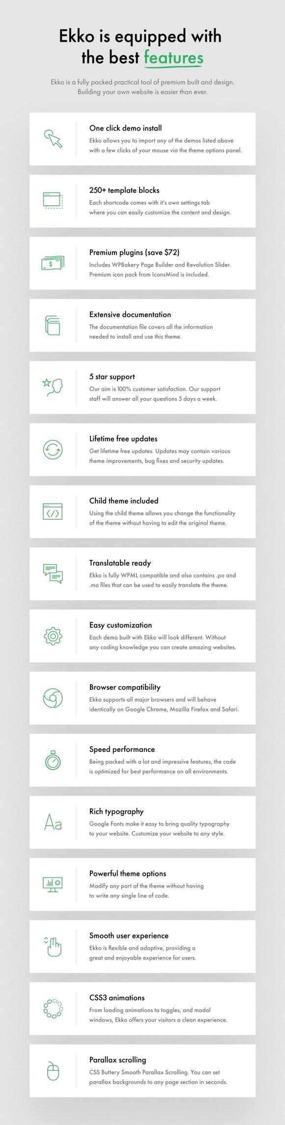 Ekko - Multi-Purpose WordPress Theme with Page Builder - 16