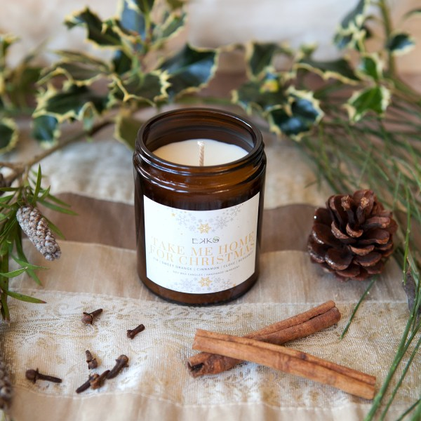 Soy Wax Christmas Candles Handmade By Ekko Therapies