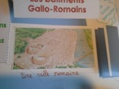 Histoire, lapbook sur les Gallo-romains
