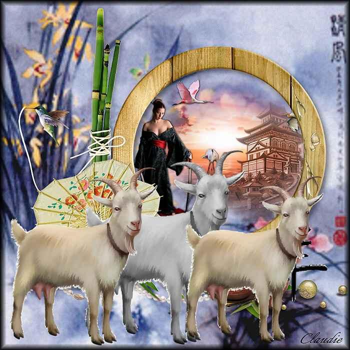 Pour Ella, l'année de la chèvre