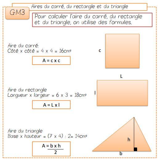 les mesures d aire ressources pour les enseignants de cm2