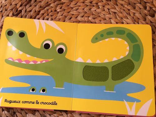 Chut les enfants lisent : Doux, pas doux l'imagier sensoriel