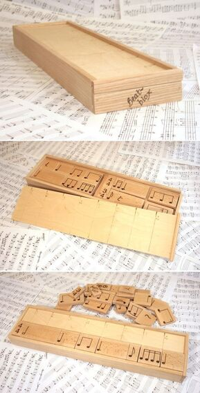 as a music teacher, love this simple idea!: