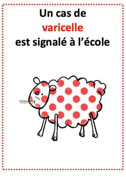 """Résultat de recherche d'images pour """"affiche varicelle"""""""