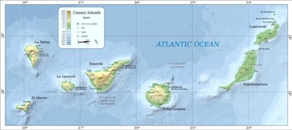 Deux humanoïdes géants - 22 juin 1976 aux îles Canaries