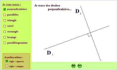 tracés géométriques