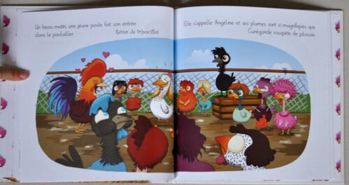 La poule qui n'aimait pas les oeufs de Séverine de la Croix, Anthony Signol et Pauline Roland éd Splash!