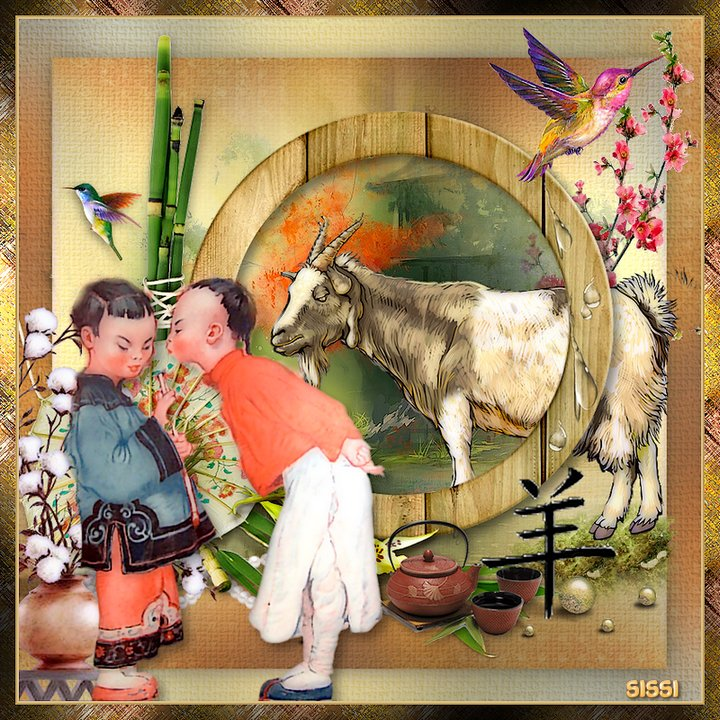 * Nouvel An Chinois * Atelier de Baboucka *