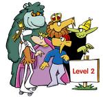 Muzzy : personnages et ressources