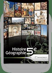 Couverture livre Histoire 5e