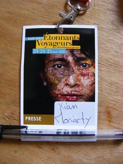 Les Etonnants Voyageurs 2015