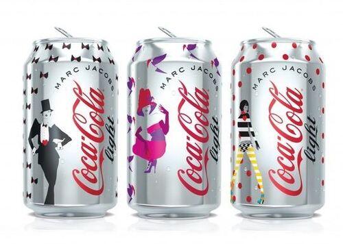 canettes coca cola light marc jacobs