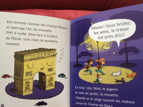 Chut les enfants lisent : La Tour Eiffel se balade à Paris
