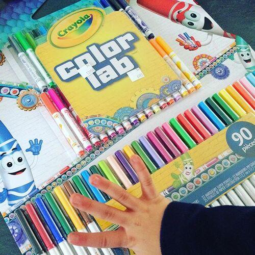 Le coloriage Crayola Color Wonder #nouveauté