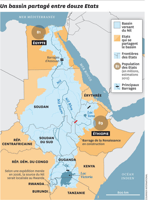 Egypte-Ethiopie : Partage des eaux du Nil, Accord à Khartoum