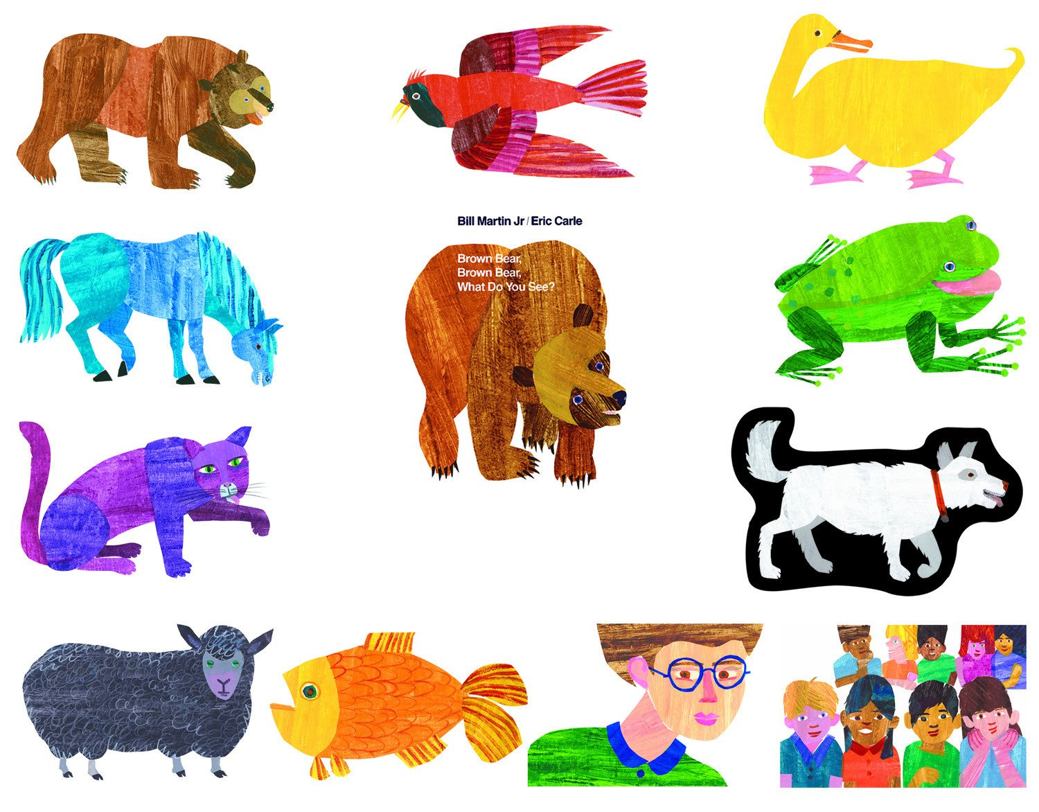 Brown Bear Brown Bear What Do You See E Carle