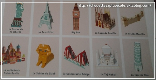 Les monuments du monde en 3D