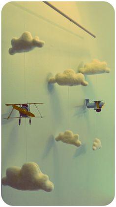 #memobaby Un mobile pour les futurs aviateurs !