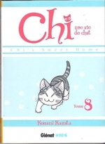 • Chi, une vie de chat (T. 7 et 8) de Konami Kanata