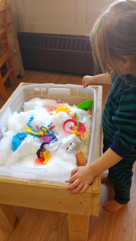 Jeux d'hiver, jeux d'enfants
