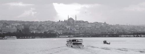 Istanbul et la traversée du Bosphore vers l'Asie