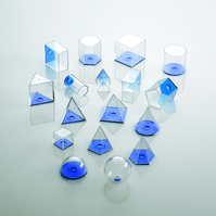 View-Thru Geometric Solids - 17 pcs. | Main Photo (Cover)