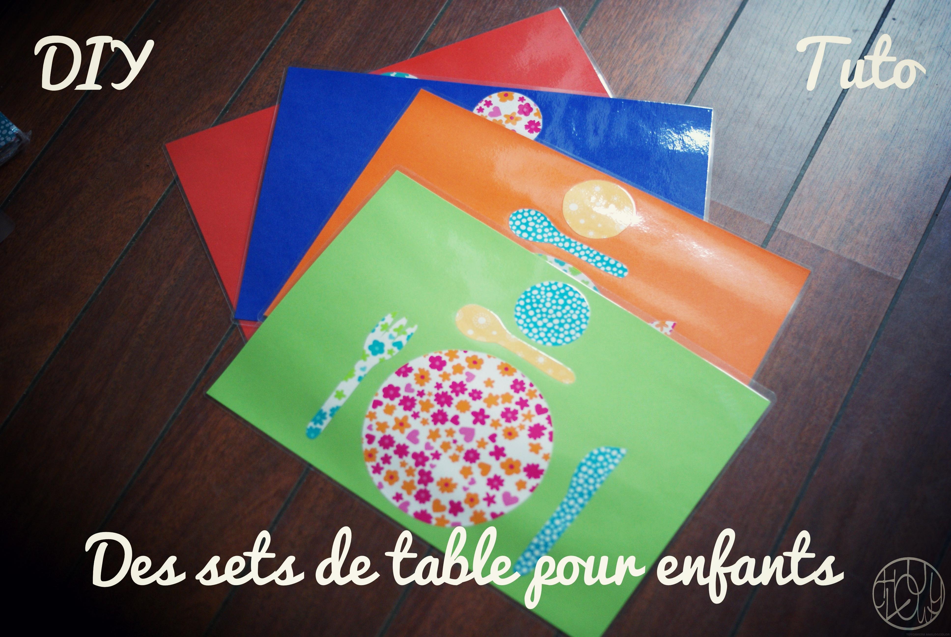 Diy Tutoriel Des Sets De Table Montessori Dans Ma Petite Roulotte