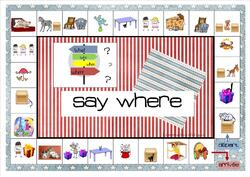 SAY WHERE !